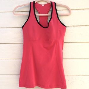 Lucy | racer back tank top shirt athletic wear